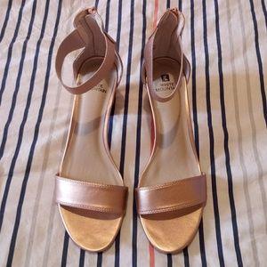 White Mountain Elinie Heel Sandal